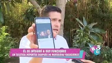 Tras casi dos meses fuera de la pantalla, el periodista Gustavo López regresó a sus labores.     López estuvo de vacaciones y aprovechó para visitar a familiares en España. Allá de paso visitó el museo de cera y nos contó algunas curiosidades que puede ver en la nota adjunta.