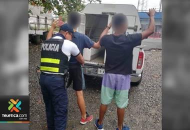 Fuerza Pública detuvo a banda que asaltaba restaurantes y sodas en Talamanca