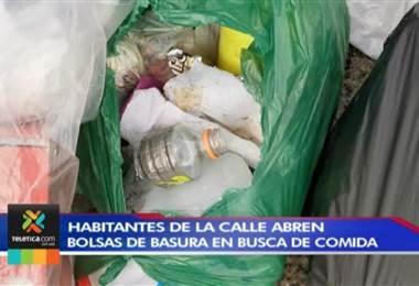 Habitantes de la calle y recolectores dificultan a la Municipalidad de San José el manejo de la basura