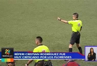 Herediano criticó el arbitraje en su derrota contra San Carlos