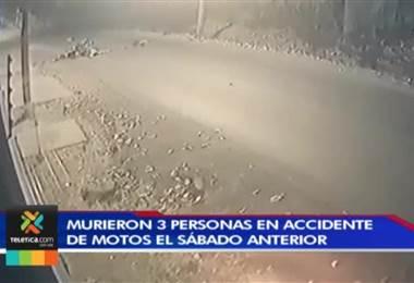 Mayor rigor en vías para frenar imprudencias tras muerte de tres motociclistas, sábado anterior.