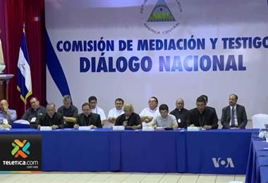 Diálogo en Nicaragua. Foto de archivo.