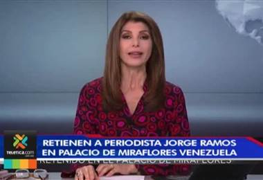 Periodista de la cadena Univisión fue retenido por el gobierno de Nicolás Maduro durante tres horas
