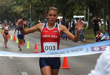 Noelia Vargas marcha atlética