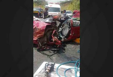 Accidente deja un fallecido en la zona de Naranjo