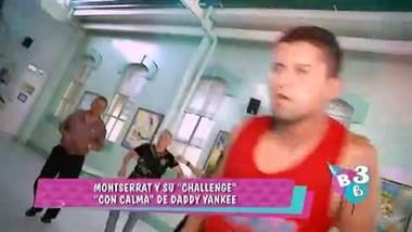 """La nueva canción de Daddy Yankee """"con calma"""" llegó al Hogar Carlos María Ulloa con la presentadora Montserrat del Castillo.     Una coreografía que estalló en las redes y aquí se la presentamos."""