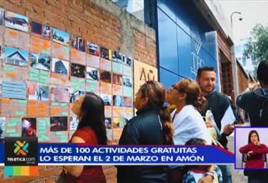 Más de 100 actividades gratuitas lo esperan este sábado en Amón. Juan