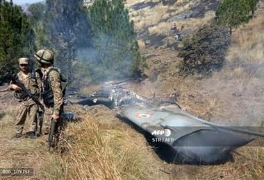 Derribo de aviones en India