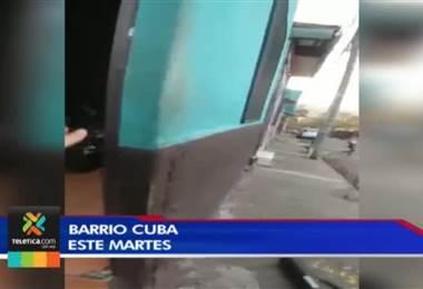 OIJ desarticuló violenta banda dedicada al tráfico de drogas en Barrio Cuba