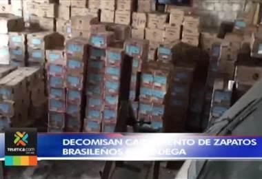 Policía de Control Fiscal decomisó poco más de 20 mil pares de zapatos robados
