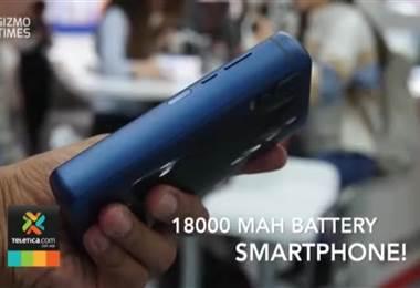 Energizer muestra su teléfono con batería gigante