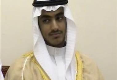 Hamza bin Laden. Foto AFP.