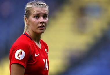 Ada Hegerberg, futbolista noruega. |BBC Mundo