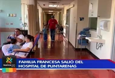 Familia francesa con sarampión salió del hospital pero no tienen autorización para viajar a su país
