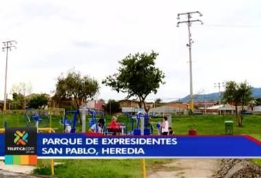 Intervención policial por medio de altavoces evitó pleito entre colegiales en San Pablo de Heredia
