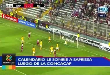 Calendario le sonríe a Saprissa luego de la Concacaf