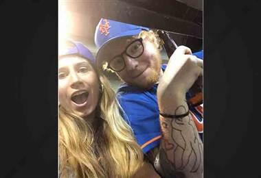 Tomada del Instagram de Ed Sheeran