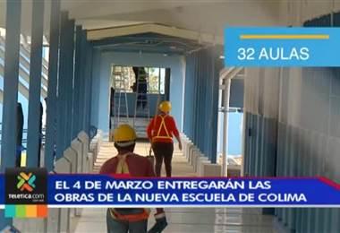 Este cuatro de marzo entregarán las obras de la nueva escuela de Colima de Tibás