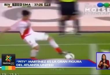 'Pity' Martínez es gran figura del Atlanta United