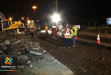 Vecinos de Cartago piden al MOPT mejorar las obras viales en el cantón