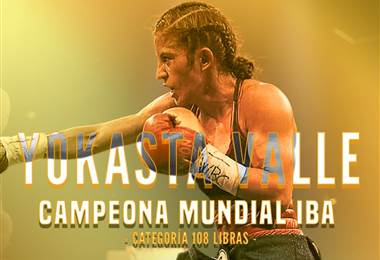 Yokasta Valle se coronó campeona de las 108 libras de la IBA.