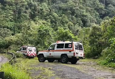 Cruz Roja encontró a 4 desaparecidos en el Braulio Carrillo.