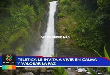 Televisora de Costa Rica lanzó una campaña a favor de la paz