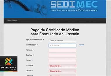 Cobro en línea del dictamen médico para licencia de conducir será obligatorio a partir de agosto
