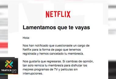 Delincuentes se hacen pasar por proveedores de servicios como Netflix para robar su información