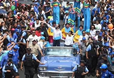 Nayib Bukele, nuevo presidente de El Salvador.
