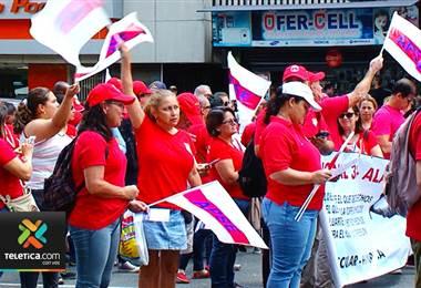 Sindicatos del Poder Judicial se niegan a que se rebajen salarios por las huelgas