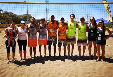 Ganadores de Voleibol de playa tercera fecha