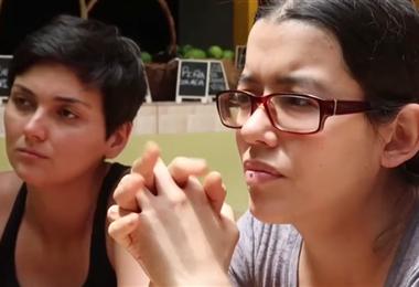 Laura y Jazmin primer matrimonio gay en CR. BBC Mundo.