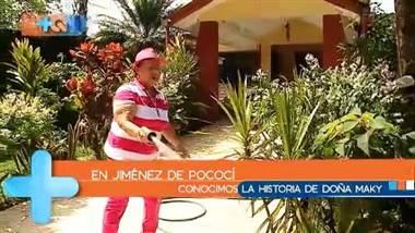María de los Ángeles Nuñez tiene 76 años y actualmente es una de las vecinas más activas en asuntos de su comunidad, Jimenez de Pococí.     Esta adorable mujer, amante de las montas a caballo, los cantos en karaoke y ayudar a sus vecinos, es regidora suplente en el municipio de Pococí.     Repase su historia completa en el vídeo adjunto.