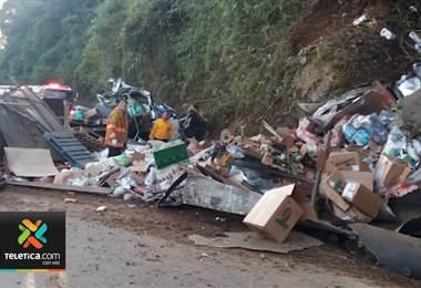OIJ investiga la causa de un mortal accidente ocurrido este martes en Pérez Zeledón