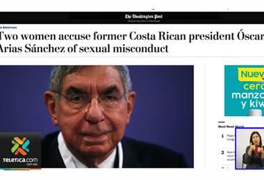 Dos mujeres más denuncian supuestos abusos sexuales del expresidente Óscar Arias