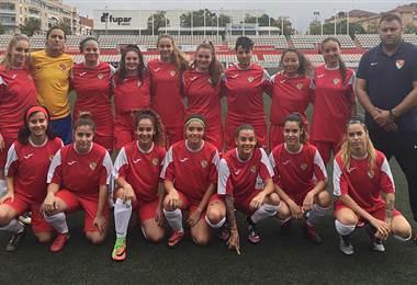 Jugadoras del Terraza FC