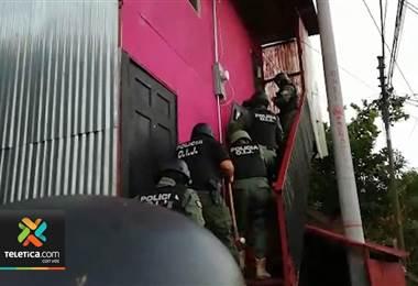 OIJ detuvo este martes a una mujer y a su hijo como sospechosos de venta de droga