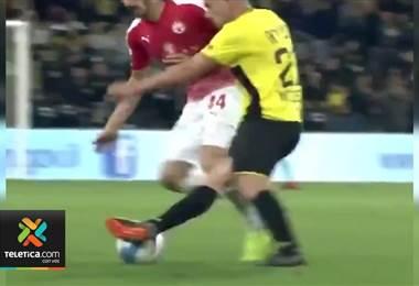 Gran jugada en el fútbol de Israel