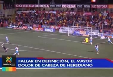 Falta de definición es el principal error del Herediano en su arranque del Clausura 2019