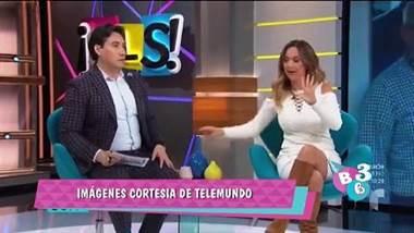 Periodista costarricense Verónica Bastos se agarró en vivo con un compañero
