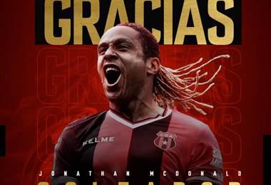 Tomada del Facebook de Liga Deportiva Alajuelense