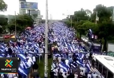 Informe señala que los nicaragüenses se manifestaron 2070 veces en el 2018