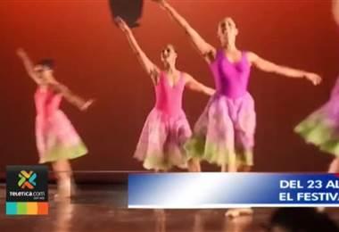 Bailarines de Costa Rica y Centroamérica participarán en la 4ta edición festival Ballet San José