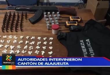 Policía de Control de Drogas desarticuló una organización criminal en Hatillo y Alajuelita