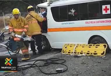 Menor de 17 años permanece grave tras accidente en Caldera