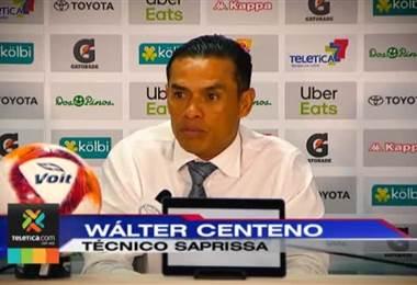 Wálter Centeno vivió una noche inolvidable en el Ricardo Saprissa