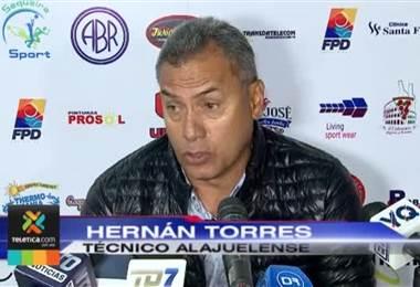 Hernán Torres promete mejorar antes de disputar el clásico