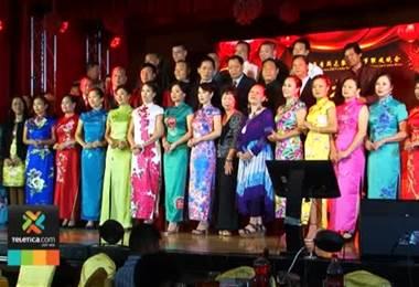 Comunidad china en Costa Rica celebró la llegada del año nuevo chino