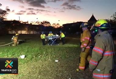 Niño de 5 años es trasladado vía aérea al Hospital de Niños tras ser atropellado en Cartago